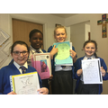 Confirmation projects from Year 6...