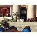 The Holy Father Processing from the Basilica