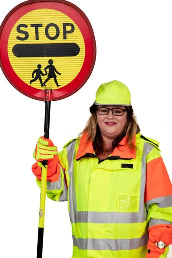 Sally, Crossing Patrol warden