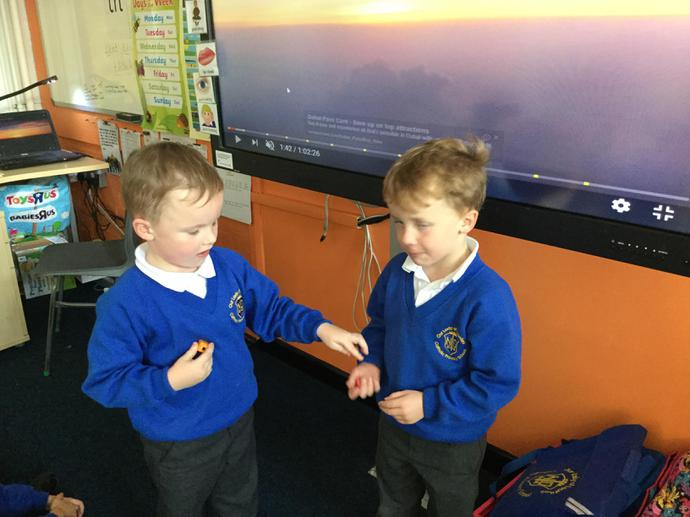 Sharing what we have.