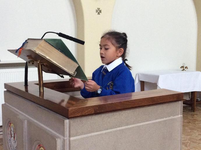 Communion reflection...