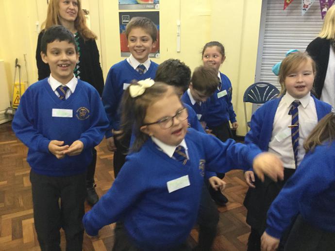 Praising through song and dance!