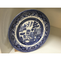A willow pattern plate...