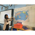 Ying teaching some Chinese geography...