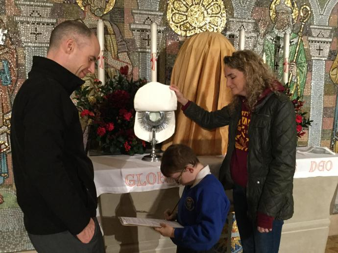 The Sacrament of the Eucharist