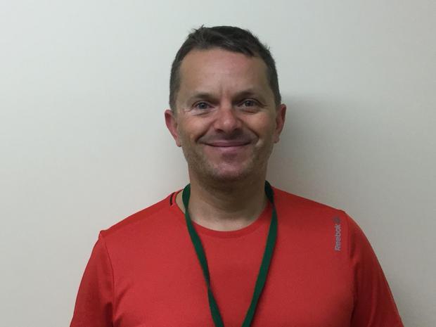 Mr Blackburn - Sports coach