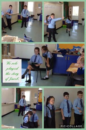 Role playing the story of Jacob. 19/09/19