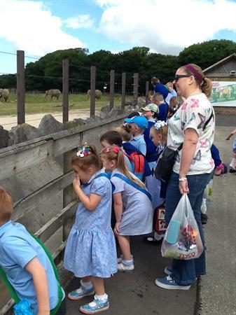 Reception School Trip