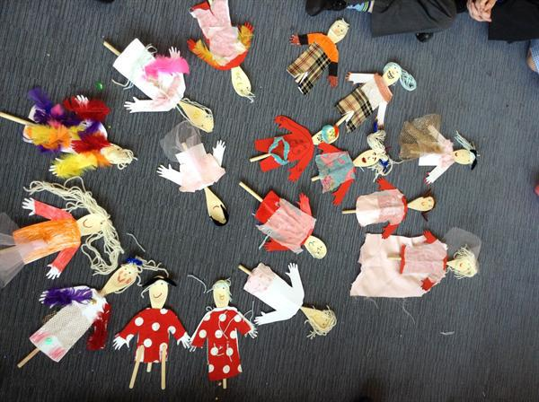 Spoon Puppets by Puppet Club