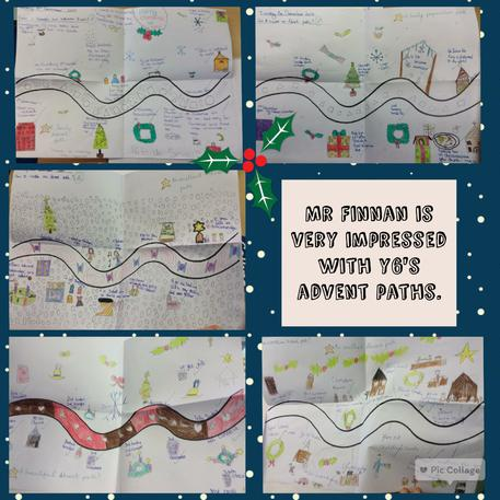 Our Advent paths are really lovely!