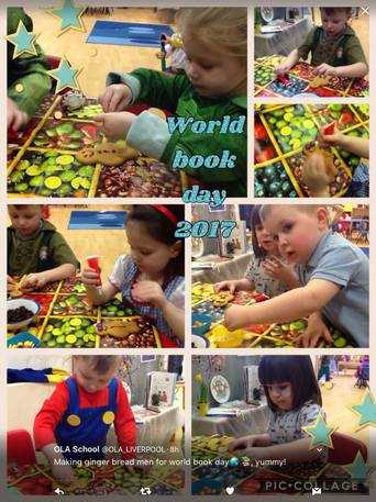 Decorating our own gingerbread men😊