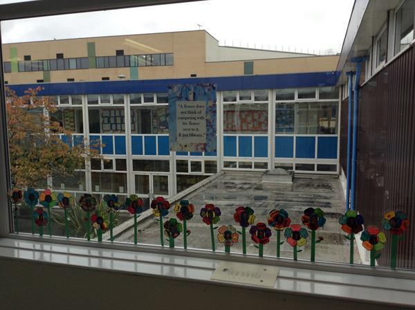 Our PSHE window- flourish and grow!