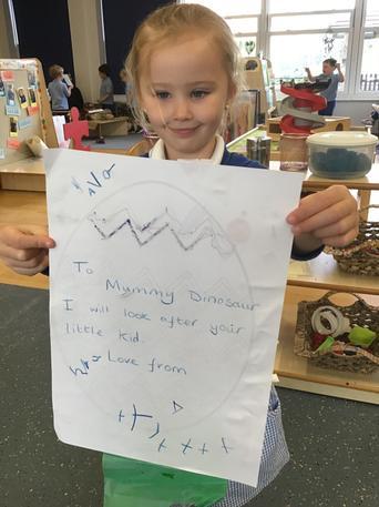 We enjoyed writing letters back!