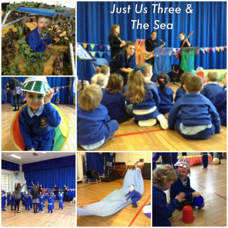 We loved joining in with the interactive show🎸🎷