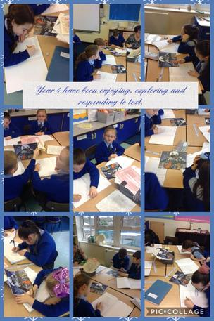 Exploring new stories in Year 4. 21/01/20