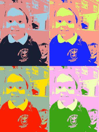 Nursery have been finding out about Pop Art.