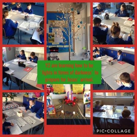 Advent preparations in Y2 2/12/19