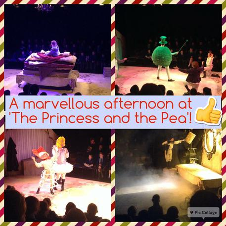Our pantomime day out! Jan 2016.