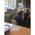 We were thrilled to discover our new 'Hair Salon' role play area!