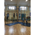 We're LOVING using the apparatus for P.E!