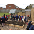 We visited our class allotment...