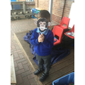 We loved making masks for our 'Noah's Ark' role play area...