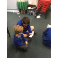 Our Y5 prayer buddies read us stories.