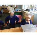 This week, we've loved playing in our Bakers' role play area!