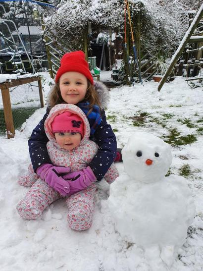Katie's Snowman