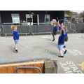 ...and practised our skipping skills.