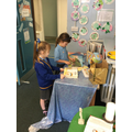 We further explored the story at our Prayer Table.