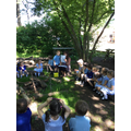 We visited our Woodland Walk for a minibeast hunt.