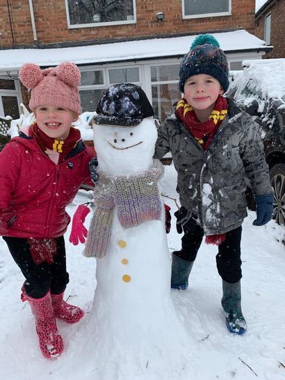 Sebastian snowman