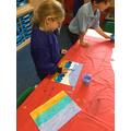 We also created beach scenes!