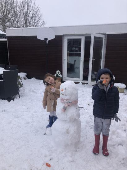 Lucas' snowman