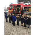 Solihull Firefighters paid us a visit.
