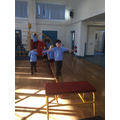 ...to be able to use the apparatus for our PE session;