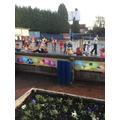...all around the playground!