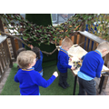 ...and our 'Explorers' Den'!