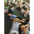 ...and, as it's been SO HOT, we've investigated relaxation and 'cool down' techniques.