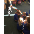 ...and the longest EVER paper chain!