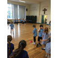 This morning, we continued practising for our forthcoming Sports Day!