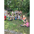Mrs Hegarty bought us ice lollies to mark her retirement. We loved them!!!