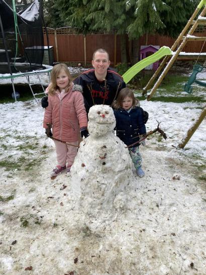 Sophie's snowman