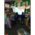 ...and practised our phonics using the Interactive Screen!