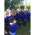 We visited our Prayer Garden to say our prayers.