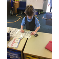 We've been learning how to write numerals...
