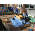 We were thrilled to discover our Noah's Ark role play area!