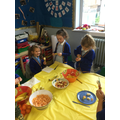 We made healthy 'fruit kebabs',