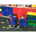 ...and we've loved playing with the dinosaurs...